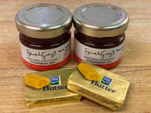 butter and jam